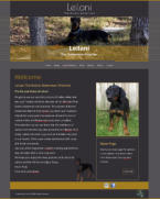 Leilani The Barnic Doberman (Elgin, Texas)